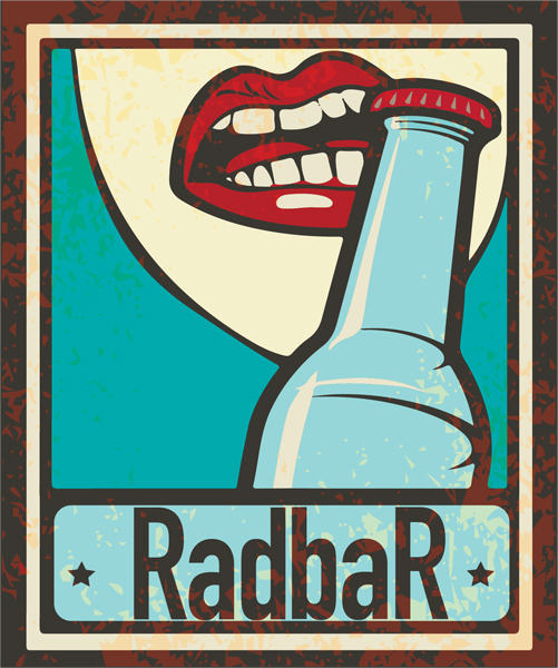 radbar glassy house