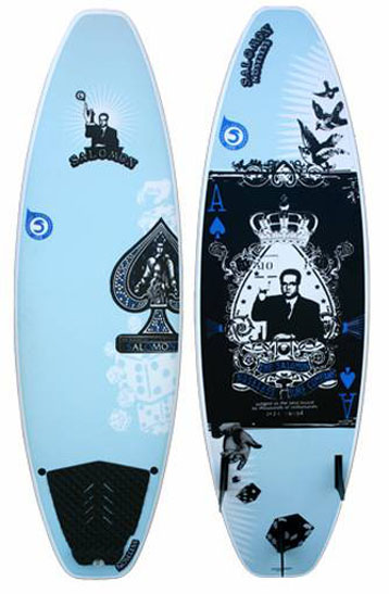 Resultado de imagen de Noseless Salomon surfboard