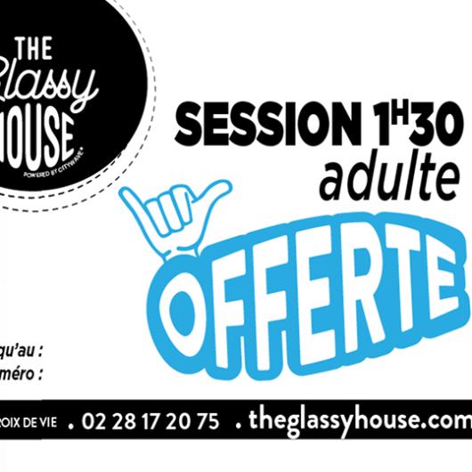 plaisir d'offrir ou besoin d'un cadeau original pour une occasion spécial? La carte cadeau de la Glassy House est là pour vous.